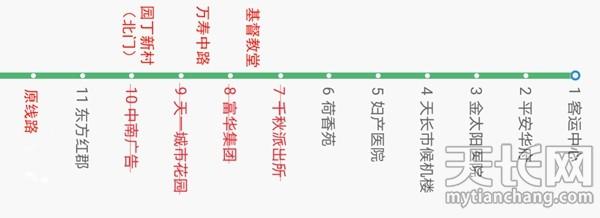 请注意!天长这三条公交路线有变化